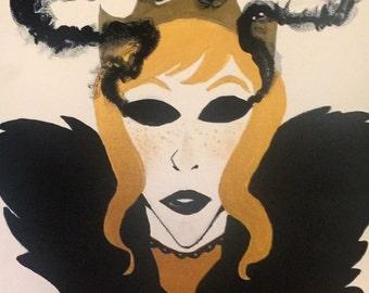The Blind Queen Original Painting