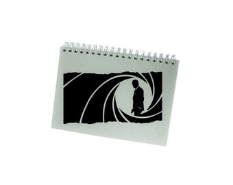 James Bond Decal - 007 Decal / Movie Poster / 007 Gifts / James Bond 007