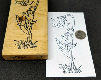 Double Lily Stamp