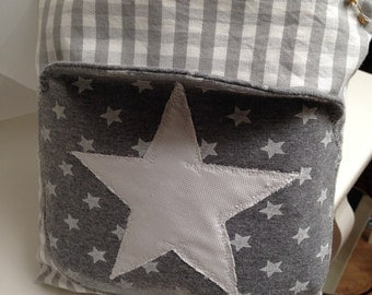 Small Kulturtsche / cosmetics bag with star