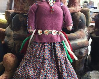 Vintage NAVAJO Handmade Doll Native American Diné