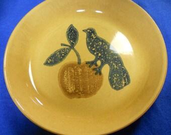 "Pfaltzgraff ""America"" Pie Plate - USA - MAFA - #574"