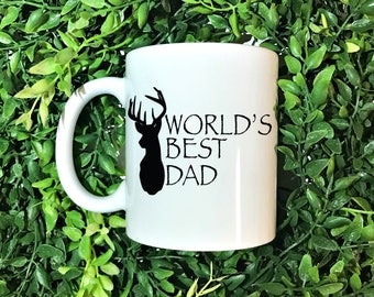 Fathers Day Mug, Best Dad Ever, Fathers Day Gift, Worlds Best Dad, #1 Dad, Father's Day Gift, Fathers Day, Best Dad Mug, Gift for Dad, Dad