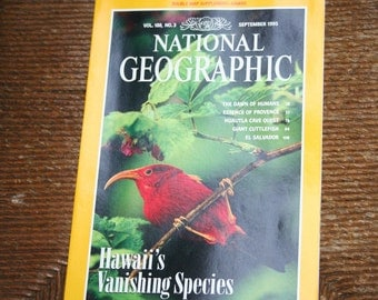 National Geographic Magazine - September 1995