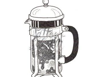 Tattoo Design by Jomkhwan - Coffee