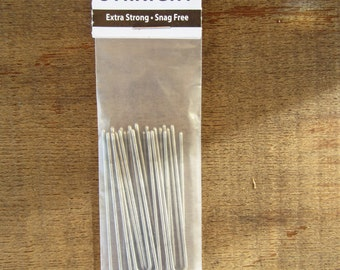 "Amish Made Heavy Duty 2 "" Stainless Steel Hairpins Hair Pin Pack"