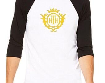 Disney Baseball Tee Raglan Tee Hollywood Tower Hotel Logo Disneyland Shirt Disney World Shirt Magic Kingdom Tee