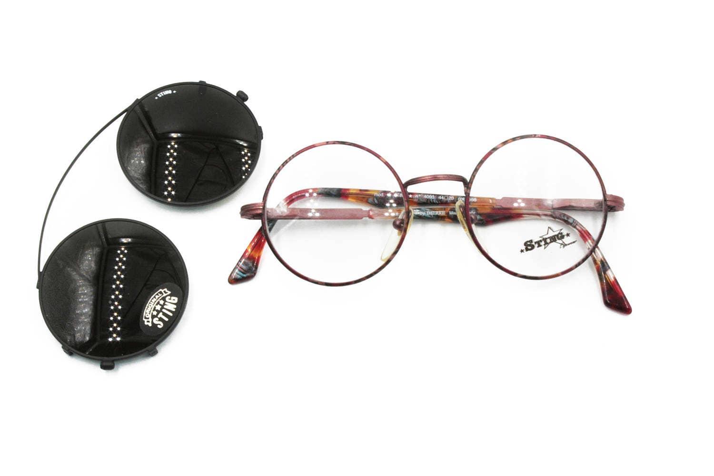 16949635fc5 Vintage STING eyewear round pantos with clip