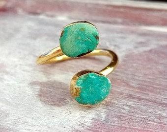 Turquoise Ring, Turquoisering,gold ring,turquiose ring gold,turquoise,24k gold,