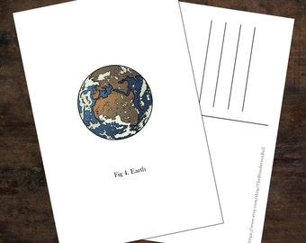 Earth Postcard V.1