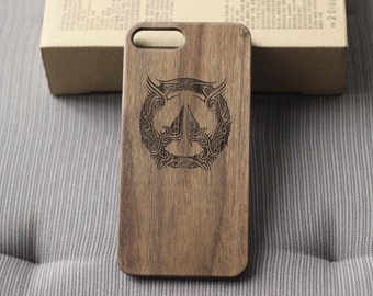 Personalized wood iphone 7 case Engraved iphone 6s case,case for iphone 6/6s/6 plus/6s plus/7/7 plus Overwatch iphone case Wood phone case