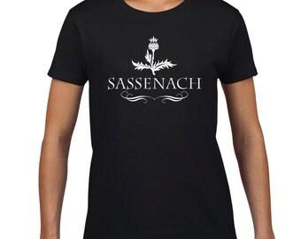 "Outlander ""Sassenach"" Tshirt"