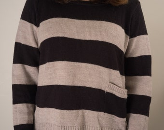 Striped Sweater (M)