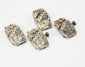 Wrist watch machine parts vintage watch repair tool Watch gears jewelry steampunk designs Watch Mechanism spare parts for watches women