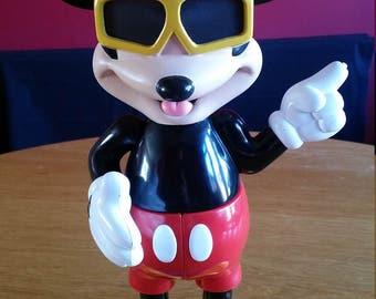 Disney rare assembling four part Big Mickey Mouse vintage & retro figure