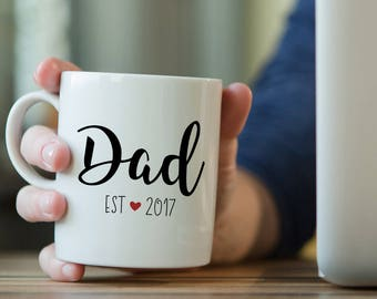 New Dad Coffee Mug, New Dad, New Dad Gift, Father's Day Gift