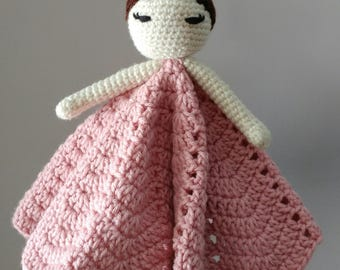 Ballerina baby lovey | Ballerina | security blanket | doll | baby blanket