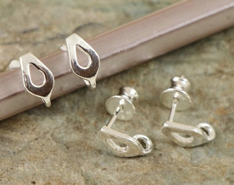 Ear Post Sterling Silver 925 EU made CHOOSE QUANTITY ( art.534S)
