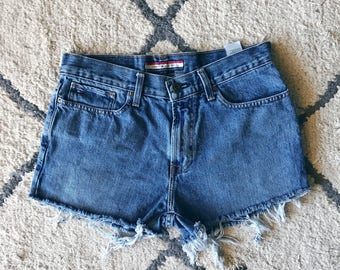 High Waisted Cutoffs