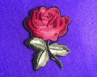 Rose patches / flower patches / floral patches / iron on flowers