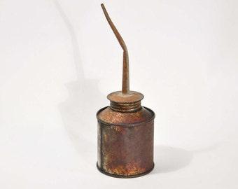 Vintage Oil Can Pump Oiler Vintage Garage Shop Tools Service Station,rustic décor, home décor, man cave décor