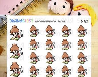Janine PLANS Planner Stickers (G1723)