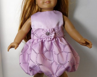 "18"" Doll Clothes fit American Girl Festive Holiday Balloon Skirt Party Dress PRIMROSE PINK"