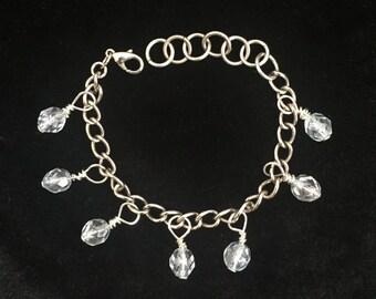 Crystal Bobble Bracelet