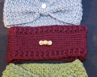 Handmade Crochet Headbands EarWarmers