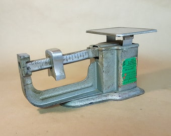Triner Postal Scales for Paper Media Air Mail One Pound and Decreasing Ounces Balance Scale Adjustable Vintage Office Decor