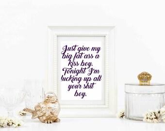Beyonce lyrics etsy beyonce lyrics stopboris Image collections