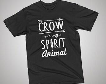 Crow Spirit Animal T-Shirt