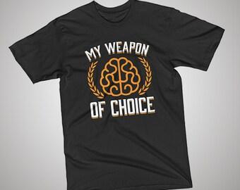 Programmer  Weapon of Choice T-Shirt