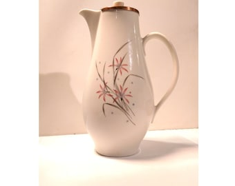 Syracuse Carefree Flame Lily Coffee Pot with Copper Lid