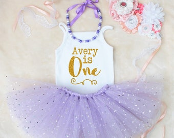 Personalised Birthday Tutu Outfit