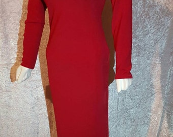 Ladies Led Dress S/M/L/XL/XXL/XXXL Long Sleeve Ideal for Christmas Parties