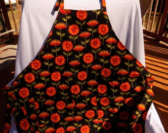 Apron Fall Flowers