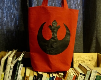 Rogue One Star Wars Inspired Rebel Alliance Tote Bag