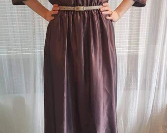 Elegant Silk Vintage Dress