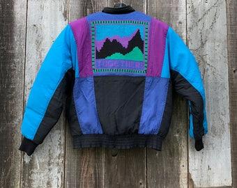 80s Ski Jacket | Vintage Ski Jacket | 90s Ski Jacket | Mens Ski Jacket | Womens Ski Jacket | Medium