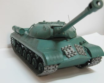 gift collector Soviet tank scale model IS 3 USSR military model panzer soviet WW2 collectibles World War II soviet army handmade model tank