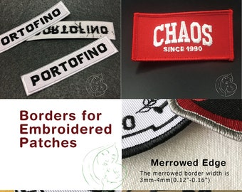 custom name patches iron on for uniforms, embroidered name badges, embroidered name patches