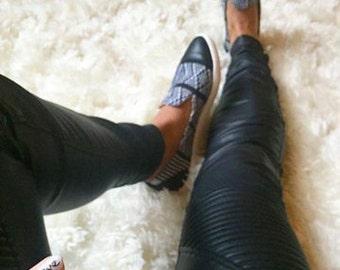 Vegan Leather Pants