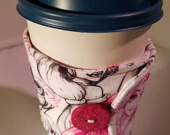 Disney Princess Coffee Sleeve
