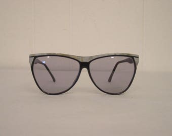 Vintage sunglasses, 1980s sunglasses, oversized sunglasses, 80s glasses