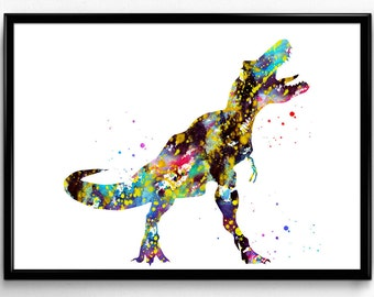 Tyrannosaurus rex, T-Rex, Dinosaur, Animal print, Room Decor, Instant Download, Poster, Room Decor, gift, print (867)