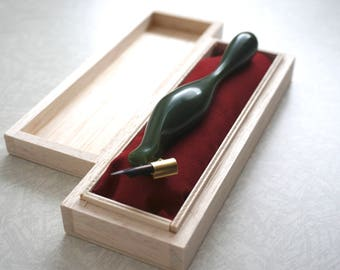 Matcha Green, Ergonomic oblique pen holder, オブリークホルダー