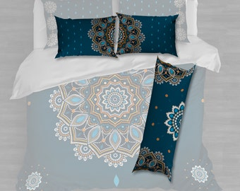 Pillow cases 24/16inches, 2 pcs. Hugging pillow case 16/48inches 1 piece, no pillows inserted.