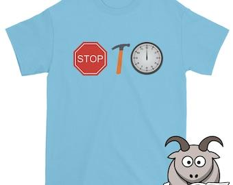 Stop Hammer Time Shirt, Song Lyric Shirt, Funny Shirts, Song Lyric T Shirt, Funny TShirts, Hammer Time T Shirt, Short Sleeve Shirt