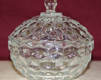 American Whitehall Candy Cover Set by Indiana Glass *Shipping Included*